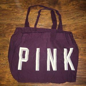 Victoria's Secret Pink tote bag